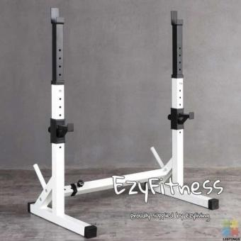 Squat Rack + Flat Bench (EZ058+068) Home Gym Combo