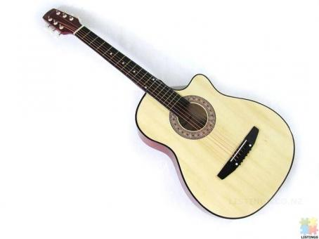 Brand New Acoustic Guitar Wood