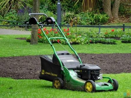 Experienced Gardener Also Lawn Mower