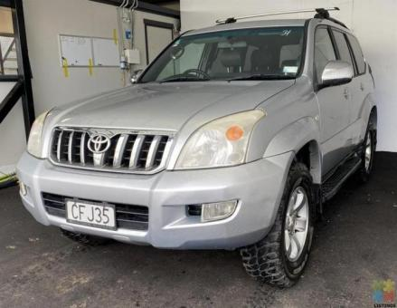 2004 Toyota Landcruiser Prado V6 - FINANCE AVAILABLE - DELIVERY OPTIONS