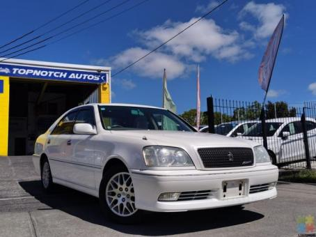 """2000 Toyota Crown /from $47 pw/athlete g/16"""" mags/low kms"""