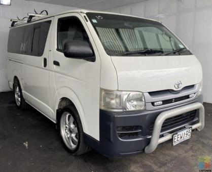 2007 Toyota hiace 2.7p manual - finance available - delivery options