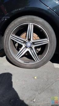 20 INCH LOW PROFILE MAGS FOR MERCEDES