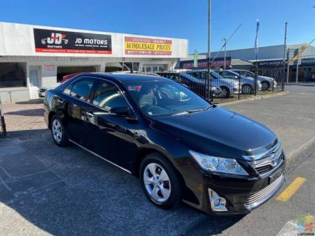 2014 Toyota Camry with Cruise Control/ NZ GPS Radio Done 101k