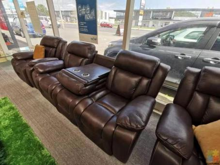 Brand New Recliner Lounge Suite 3+1+1 - Harrison