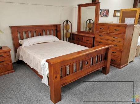 Brand New Super King Size Bedroom Suite 4pcs $1795 5pcs $1955 6pcs $2395 - Fergus