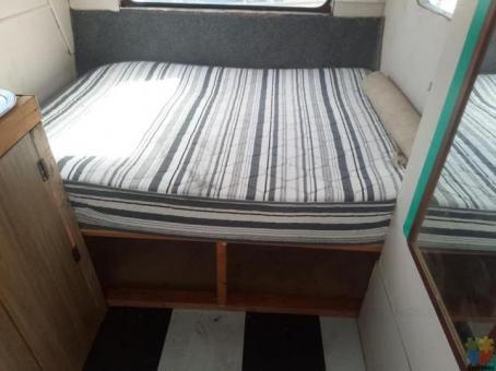 Retro 13 foot caravan