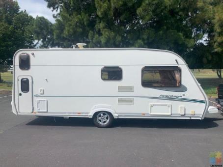 2006 Abbey Avantage Caravan **6 Berth/Rear Bunks** Great Condition