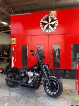 2020 Harley Davidson Fatboy M8 114 MurderOut