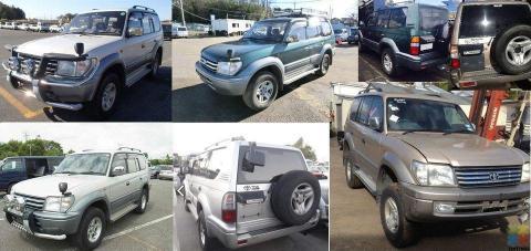 Toyota Landcruiser KZJ95 Prado Parts!!