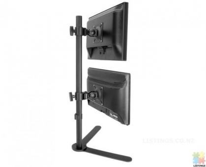 """Dual Display Desktop Computer Monitor Stand for 13""""-27"""",Brand new"""