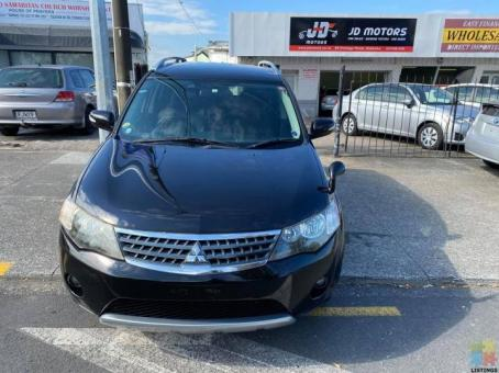 2008 Mitsubishi Outlander 4WD/ 5 Seater / Reverse Camera Done 96k Kms