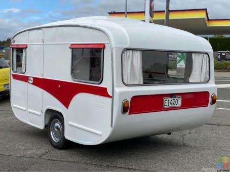 1974 Lilliput Gazelle classic kiwiana caravan