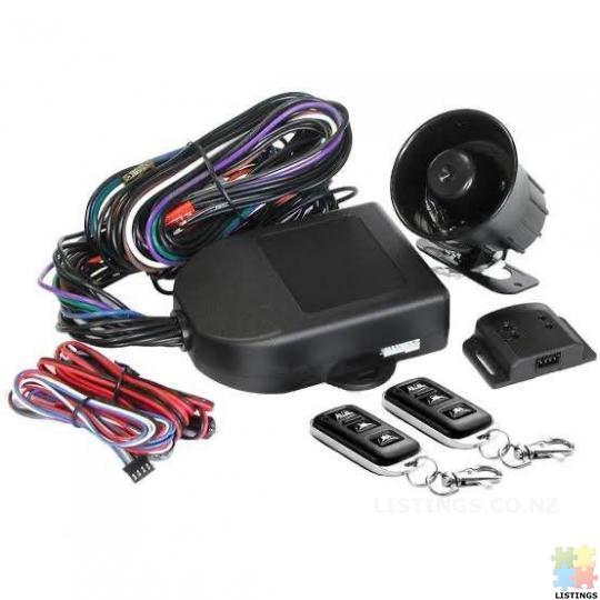 Car Alarm with installation MONGOOSE ALARM M60b 3 year warranty - 1/1