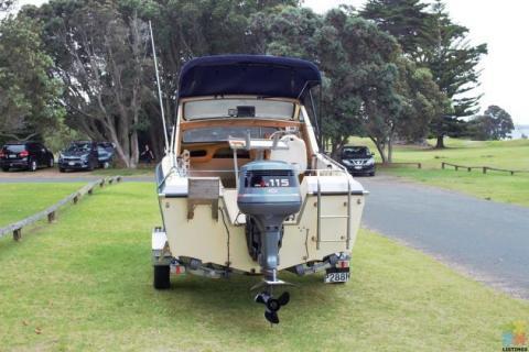 1986 Bonito Craft 115hp yamaha outboard