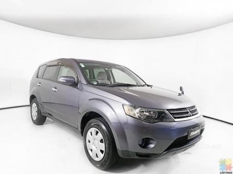 2007 Mitsubishi Outlander from $38.30 weekly wairau branch