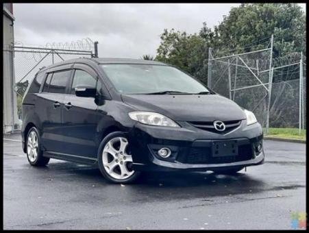 2009 Mazda premacy 20z **factory alloys + steering controls+fog lights+black