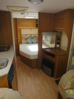 2009 Bailey Pageant Sancerre (series 7) Fixed bed, Full bathroom, solar