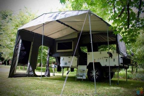 Bivouac Kakapo camping trailer. Premium model . Spotless !!