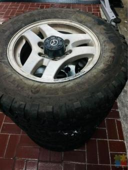 Mazda Bounty/ Ford Courier Muddies