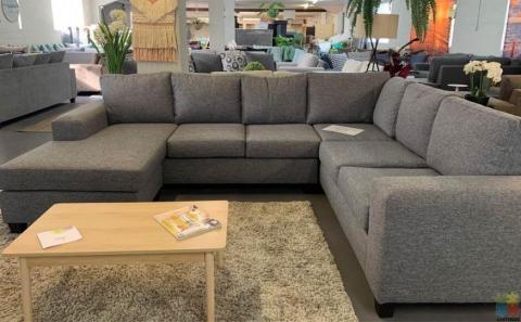 NEW ZEALAND Made Furniture city Maddison L shape