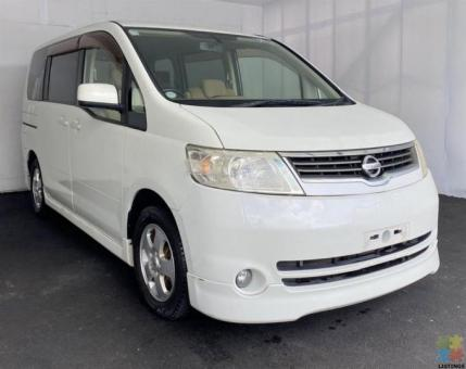 (Around $60/week) 2005 Nissan Serena - Delivery Options
