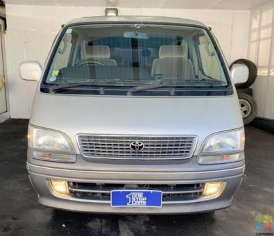 1997 Toyota Hiace Super Custom Limited LOW KMS - Delivery options