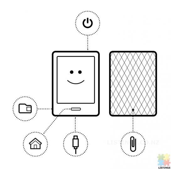 Kobo eReader Touch Edition White - 4/5