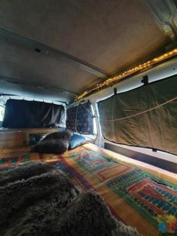 1990 Mitsubishi L300 LWB converted camper