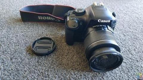 Canon EOS 1100D Camera + Lens 18-55mm