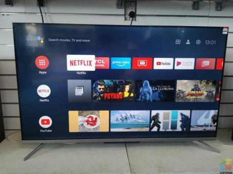 """TCL 50P715 50"""" 4K Ultra HD LED Smart TV"""