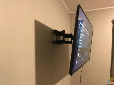 TV Wall installation, 8 years experience