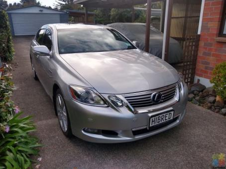 2010 Lexus GS450h.(Sunroof/Radar cruise with DABC)