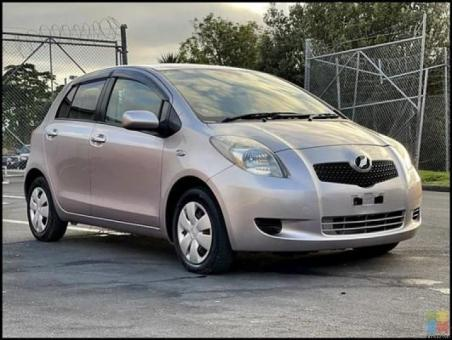 2007 Toyota vitz push to start+only done 43000 kms+very fuel economical**