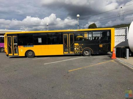 Man buses