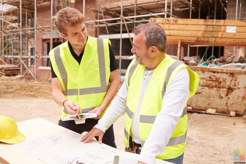 Qualified Builder and Builder Apprentice - 1/1