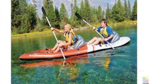 Sevylor 3406 Sit-On-Top 2 Person Kayak with Aluminum Paddle