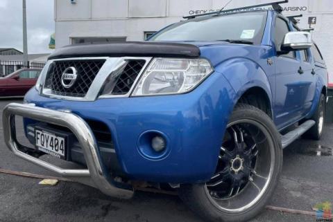 2010 Nissan Navara *Auto, 4x4, R450!*
