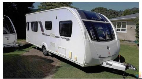 2012 Swift Archway Twywell with Motor Movers, Solar Panel, TV and Air Awning