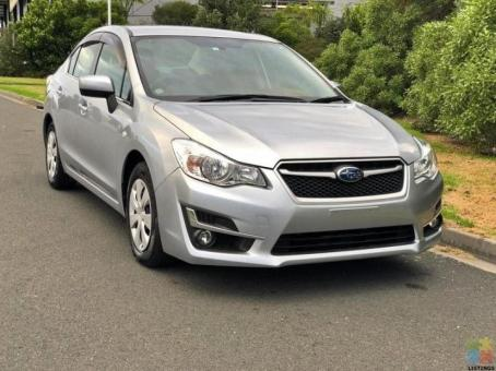 2016 Subaru impreza 1.6i facelift g4 | 83k kms only | from $72 p/w with no deposit