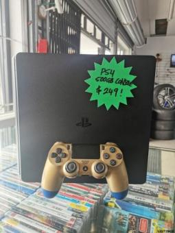 PS4 500GB SLIM CONSOLE WITH CONTROLLER