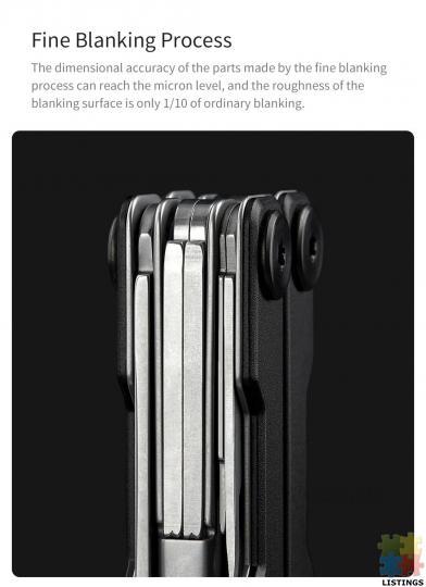 10 in 1 Folding Multi-function Tool - 2/10