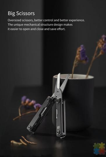 10 in 1 Folding Multi-function Tool - 5/10