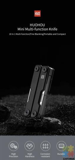 10 in 1 Folding Multi-function Tool - 6/10