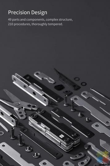 10 in 1 Folding Multi-function Tool - 10/10