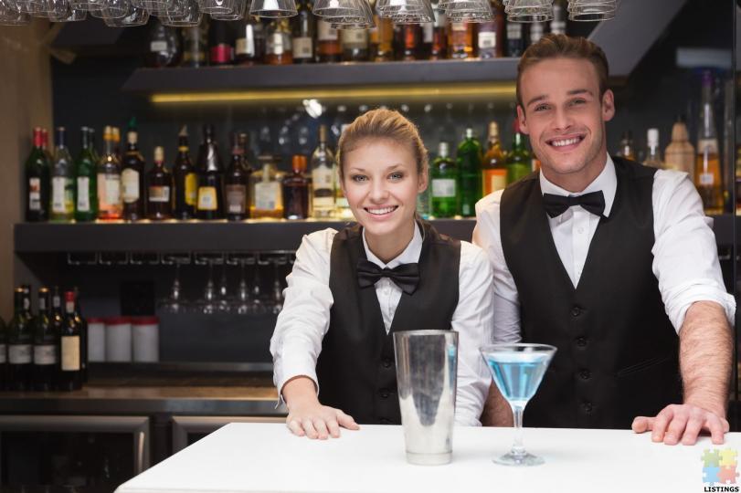cocktail bartender/waitress & waiter - 1/1