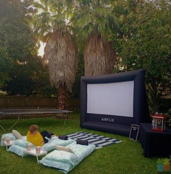 DIY Outdoor/Indoor Inflatable Cinema Hire