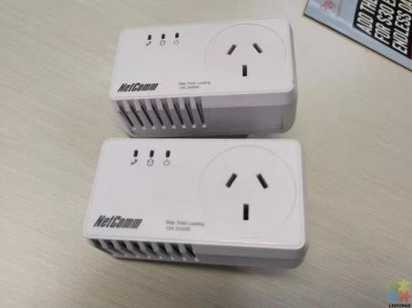 Netcomm NP204 200 Mbps - Powerline Adapter with AC Pass through