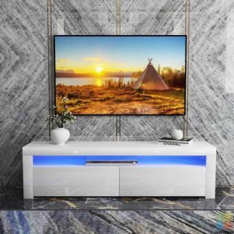 Brand new High Gloss RGB LED Lighting TV UNIT (160cm)