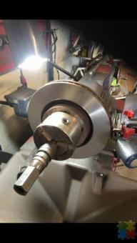 We do brake pads Rotors skim